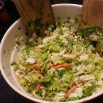 Try Napa Cabbage and make this Fresh Asian Slaw