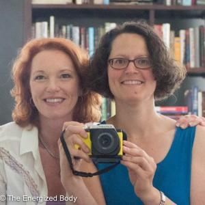 headshot of Denise and Amy