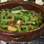 Spiced Cherry Tomato, Basil & Coconut Shrimp Salad Recipe