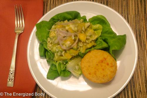 Crab Avocado Mango Salad recipe