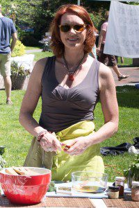 Denise at Market