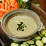 Raw Veggie Hummus Recipe